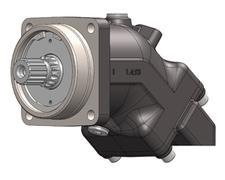 АКСИАЛЬНО-ПОРШНЕВОЙ гидромотор HPM (фланец Ø140)
