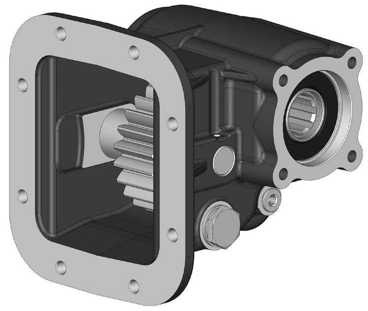 Сверхмощный КОМ для КПП HINO MX0S/07S от компании O.M.F.B.