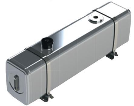Бак гидравлический алюминиевый (V=100 литров)