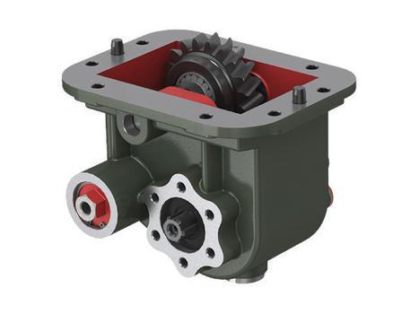 Коробка отбора мощности для КПП SCANIA GRS 890; GRS 900-920