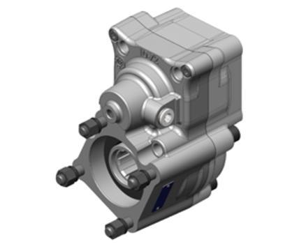 Коробка отбора мощности MAN(для КПП GZ 2600; GZ3000)