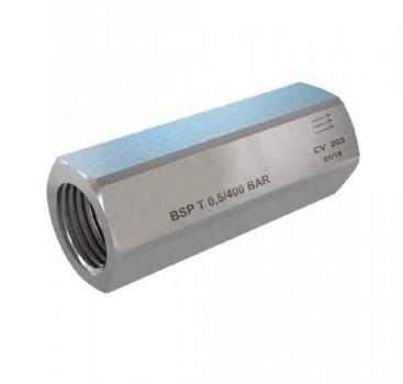 Обратный клапан CV-202 (G3/8; 40л/мин; 400бар)