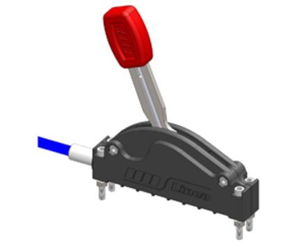 Однокоординатный джойстик LINEA механического включения КОМ с тросом 3.5м
