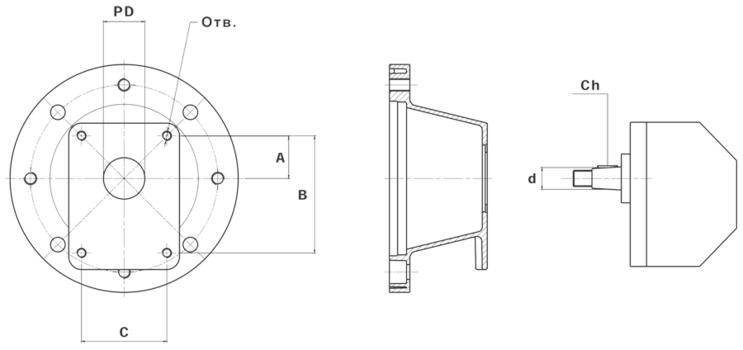 Уплотнение GUM P200 (колокол/электродвигатель)