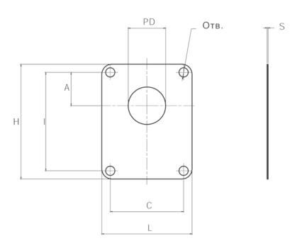 Уплотнение GUP P004 (насос/колокол)