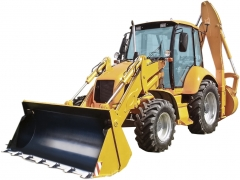 Погрузчики и экскаваторы на базе тракторов МТЗ