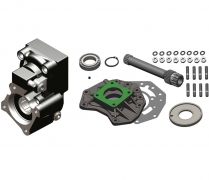 Коробка отбора мощности для КПП Mercedes G131-G330 (с ретардером, вал - 275 мм)