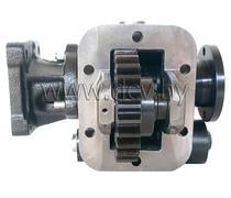 Коробка отбора мощности для КПП ЯМЗ 236/238 с фланцем под кардан и под насос ISO