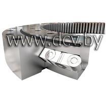 Опорно-поворотное устройство с перекрестными роликами/однорядное