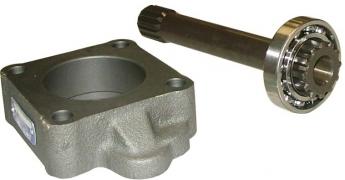 Вал отбора мощности КПП ZF ECOSPLIT 3 16S-251 (Intarder; длинна - 284 мм)